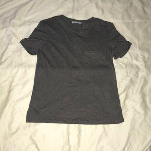Gray T-Shirt (Zara)
